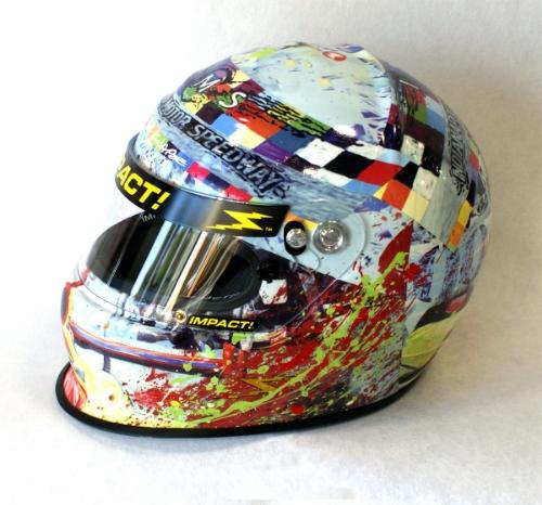 Indy 500 Helmet 2010