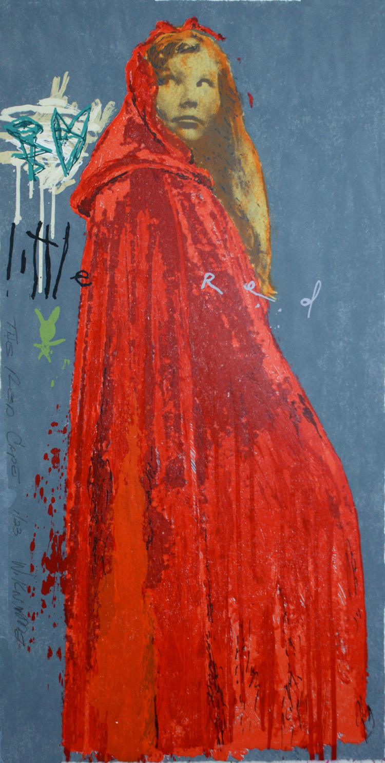 "The Red Cape - 24""x48"""