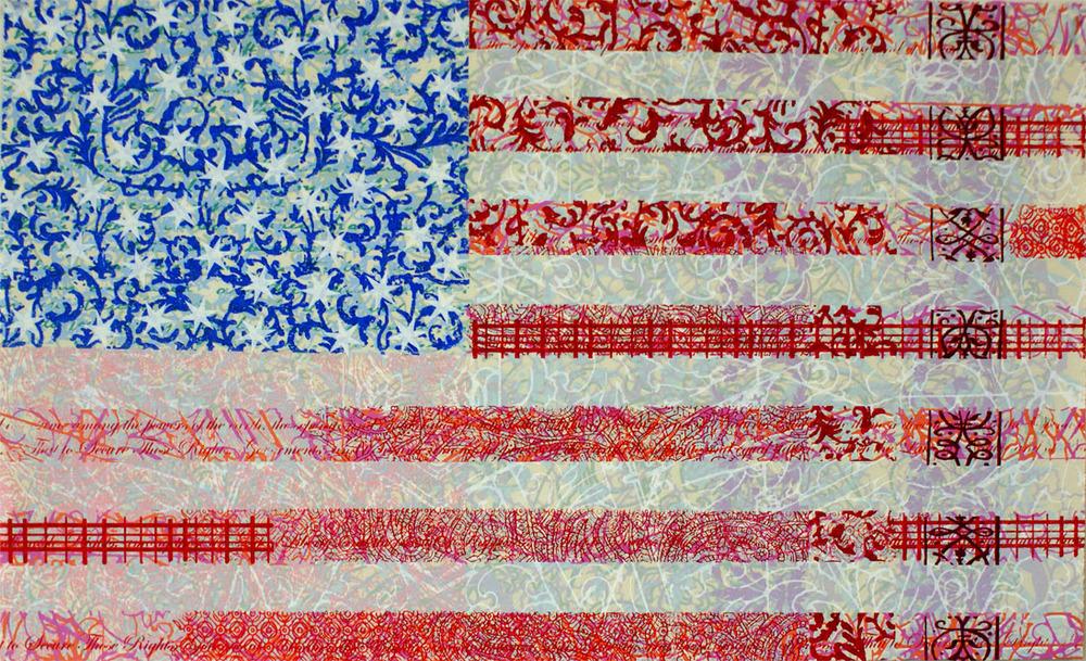 """Flag I - 23""""x37"""""""