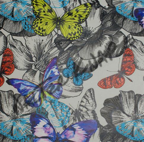 Butterfly Garden - White