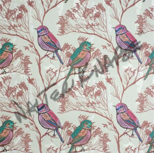 Spring Birds - Beige