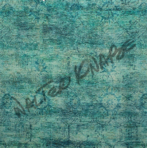 Faded Gate Overdye - Turquoise