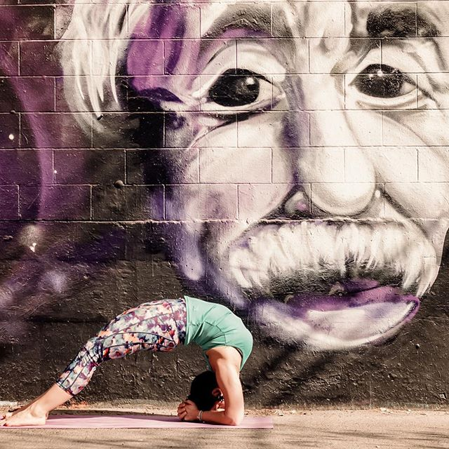 ⁣⠀ ⁣⠀ ↟ ↟ ↟ ↟ ↟ ↟⁣⠀ ⁣⠀ The true sign of intelligence is not knowledge, but imagination 💫⁣⠀ .⁣⠀ .⁣⠀ .⁣⠀ A yoga practice holds you in the present- the only space where creativity lies. So many reasons to bend! ⁣⠀ .⁣⠀ .⁣⠀ #yoga #yogacamp #yycyoga #yogapants #bend #practice #creativity #imagination #einstein #mindbodyconnection #presence #stillness #bestill #beherenow #backbend #heartopener #throatopener #create #yogaoutside #alberta #yycyogacommunity #retreat #spring #wellness #health #meditate #meditation #bewell #explore #expand