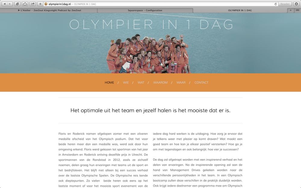 Olympier in 1 dag[expired]