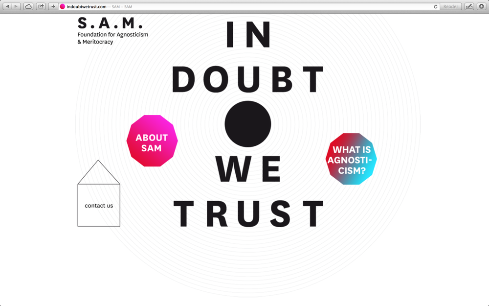 In Doubt We Trust [link]