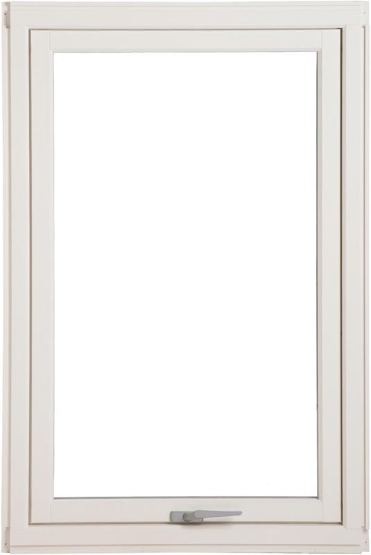 Natre toppsving vinduNå kr 2995,- - 2-lags glass hvitmalt 120x120 cm. IllustrasjonsbildeBegrenset antall