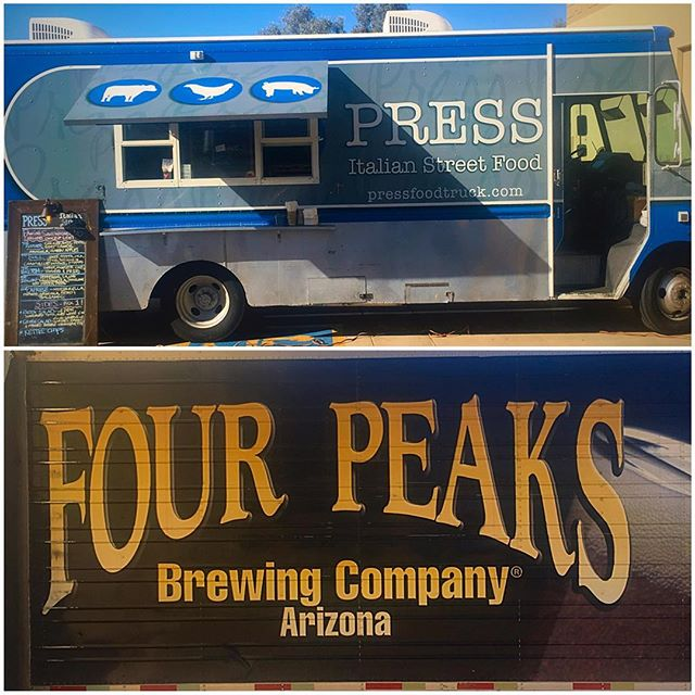 Catch us tonight 4-9pm at Four Peaks Tasting room. Enjoy some amazing sandwiches with our favorite local brews.  2401 S Wilson St | Tempe @fourpeaksbrew  #foodtruck #brewery #local #pressitalian #fresh #flavor #foodie #nomnomnom #panini #gourmet #food