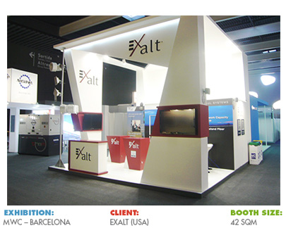 Booth for Mobile World Congress (MWC)