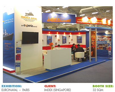 Booth for EURONAVAL Paris