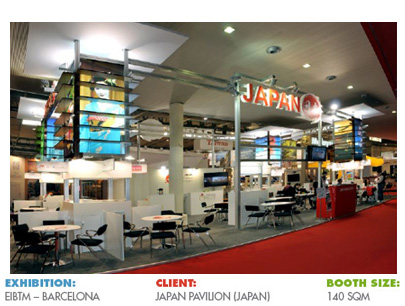 Booth for EIBTM Barcelona
