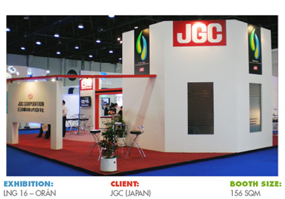 Booth for LNG 16 Oran