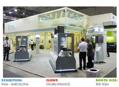 Booth for ITMA Barcelona