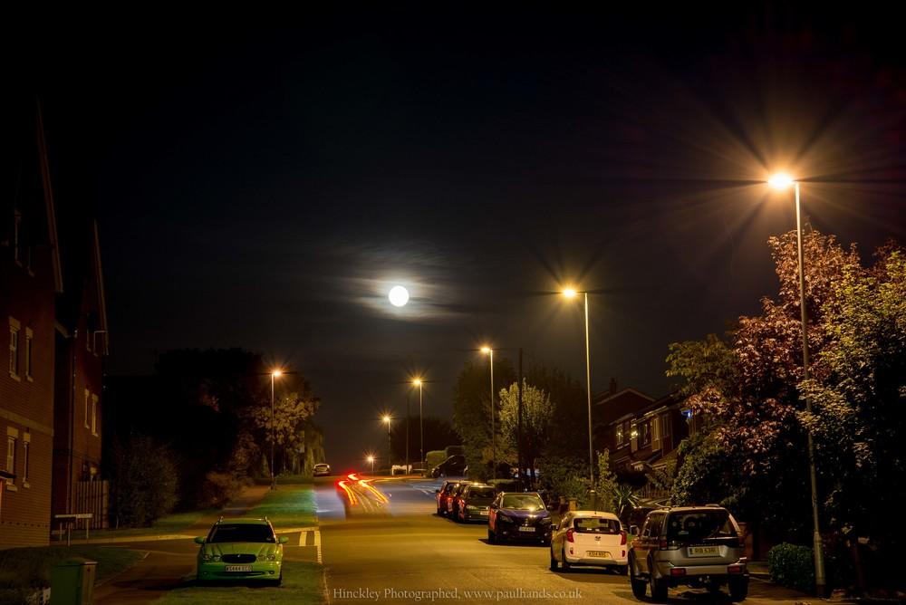 Night Photography Hinckley