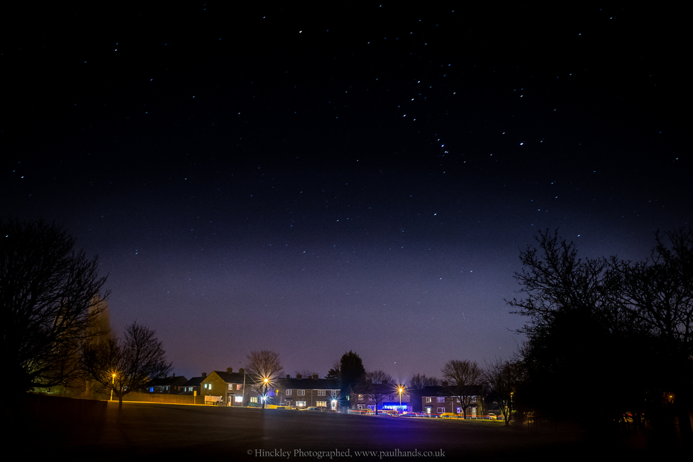 Paul Hands Photography Landscape Night Time Stars
