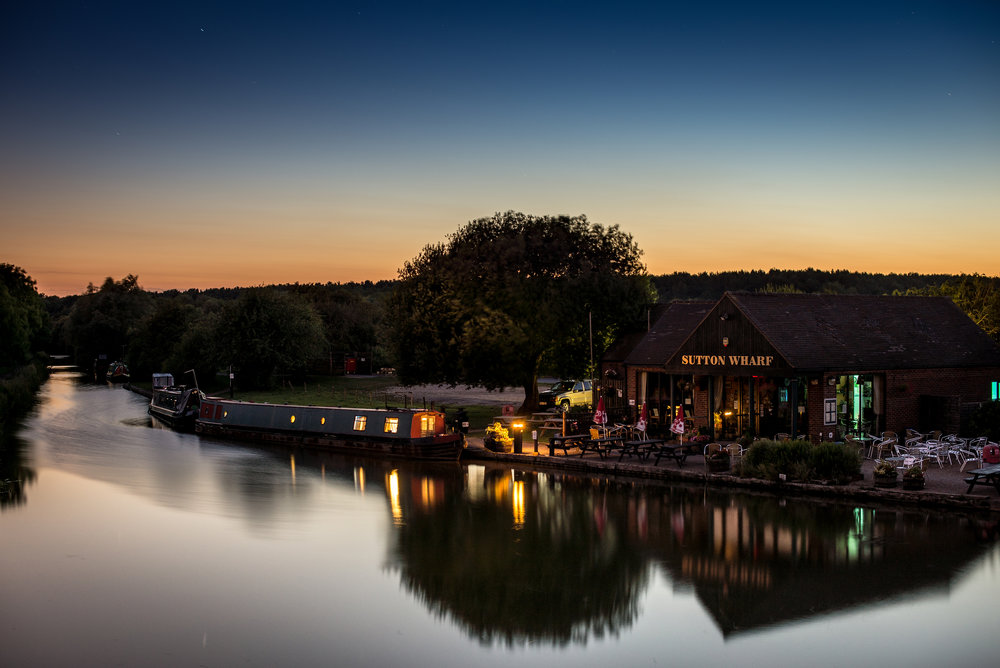 Sutton Cheney Wharf, Landscape Photographer, Paul Hands Photography, Professional, Night, Stars, Hinckley, Leicestershire, Midlands, England, United Kingdom, Great Britain