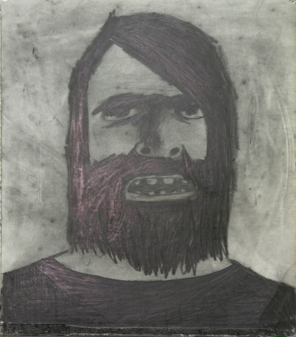 Aportrait of Jesus with Trimmed Beard 2005