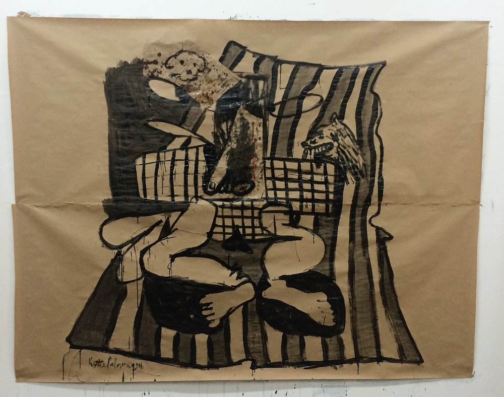 Chaos On The Beach Towel 2016