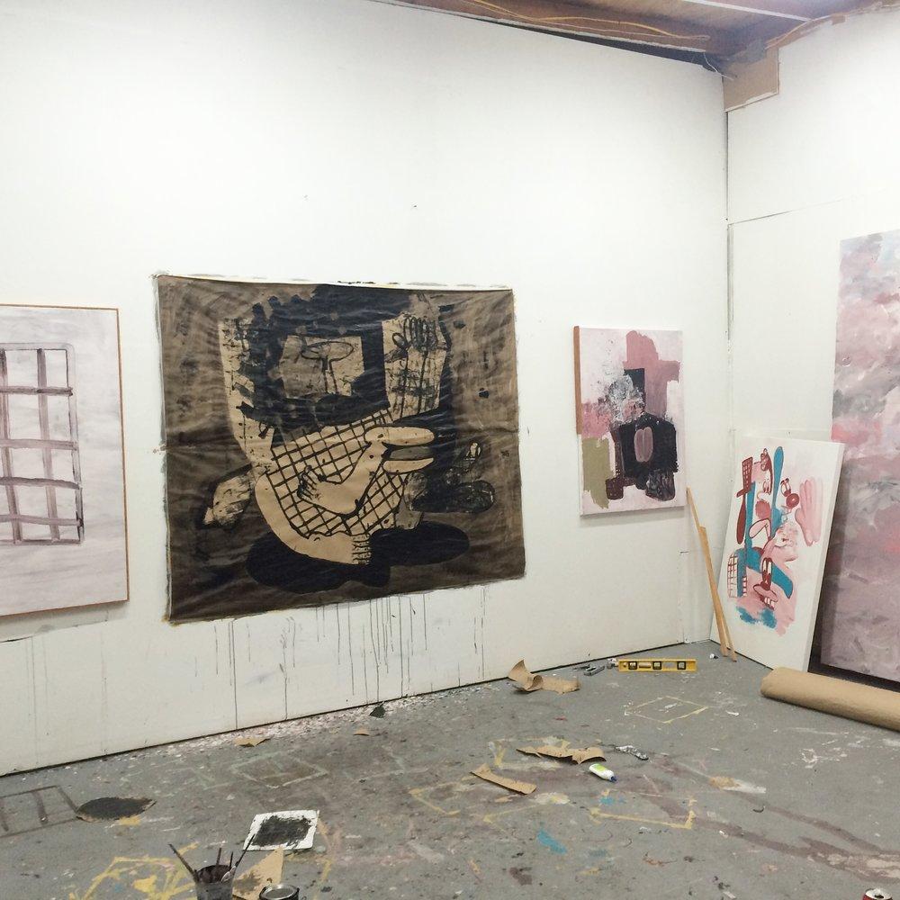 Studio View, Los Angeles, Ca. 2016