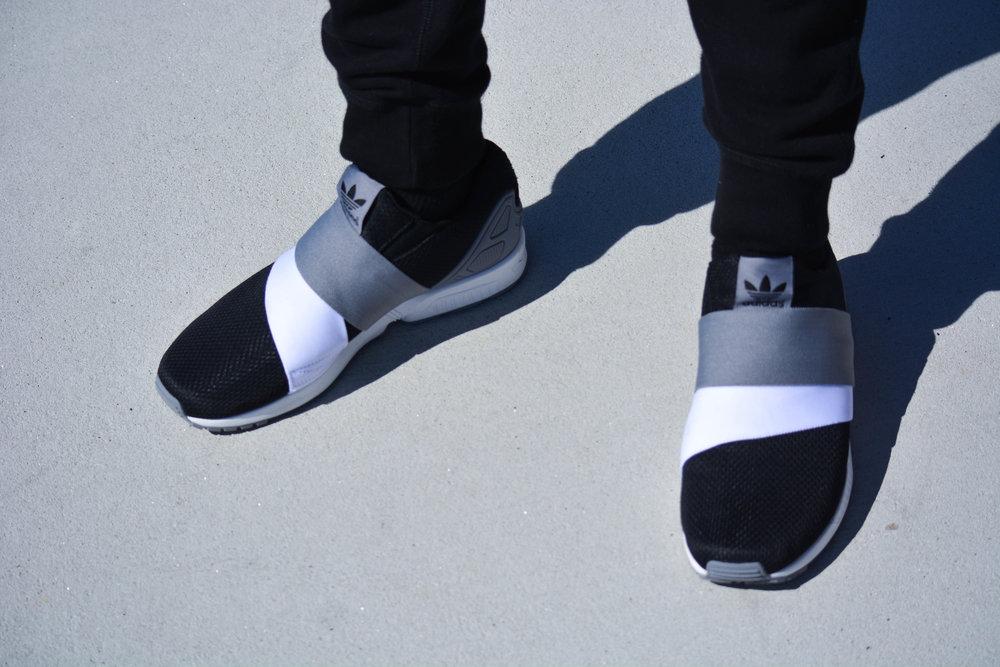 www.maxpena.com/adidas Custom Adidas ZX Flux Design: Max Pena Photo: Kirk Vanderheijden