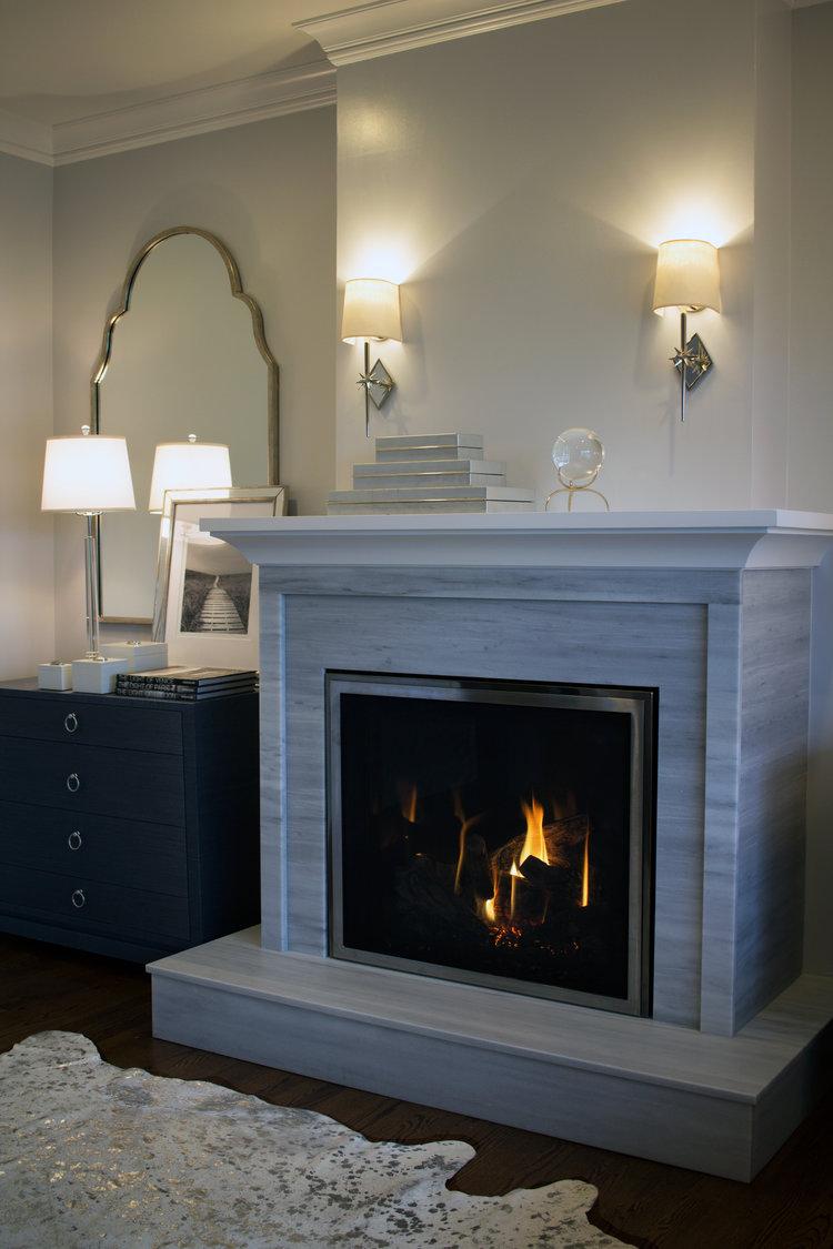 Photography: Max Pena Subject: White Mantle Published: East Coast Home U0026 Design  Magazine