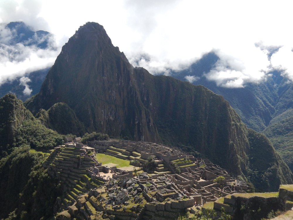 Machu Picchu around noon