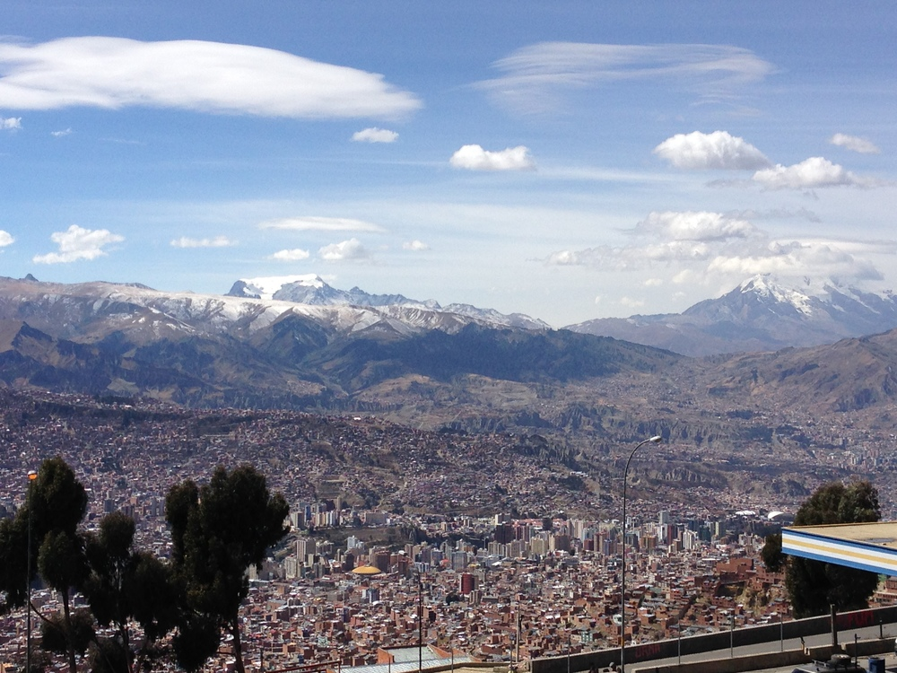 Like half of La Paz, Bolivia