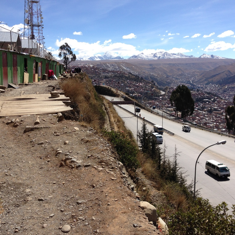 Another part of La Paz