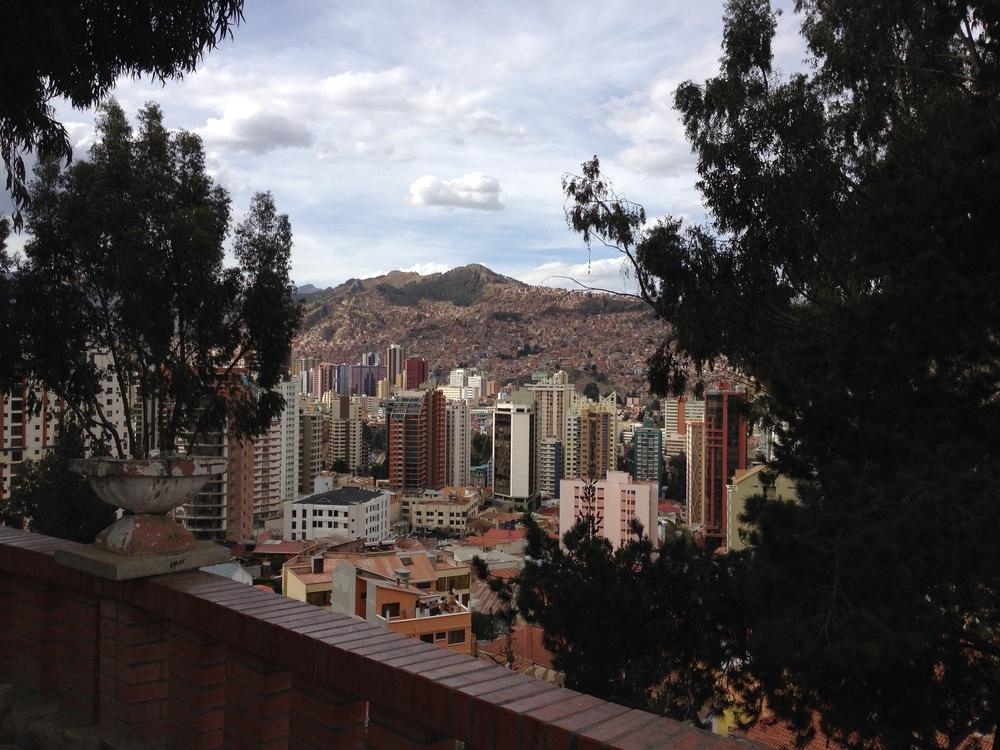 La Paz downtown