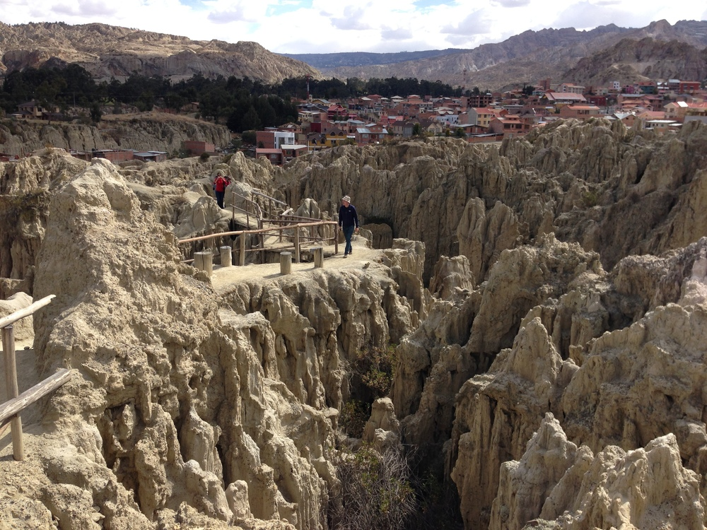 Valley of the Moon in La Paz