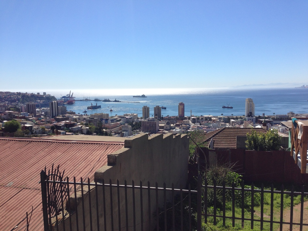 Valparaiso, Chile is the port that connect Santiago with the sea, but it has a totally different feeling to it and some nice helpful people to boot. Pablo Neruda, The poet-politician and pride of Chile, had one of his three houses here, which I went to.