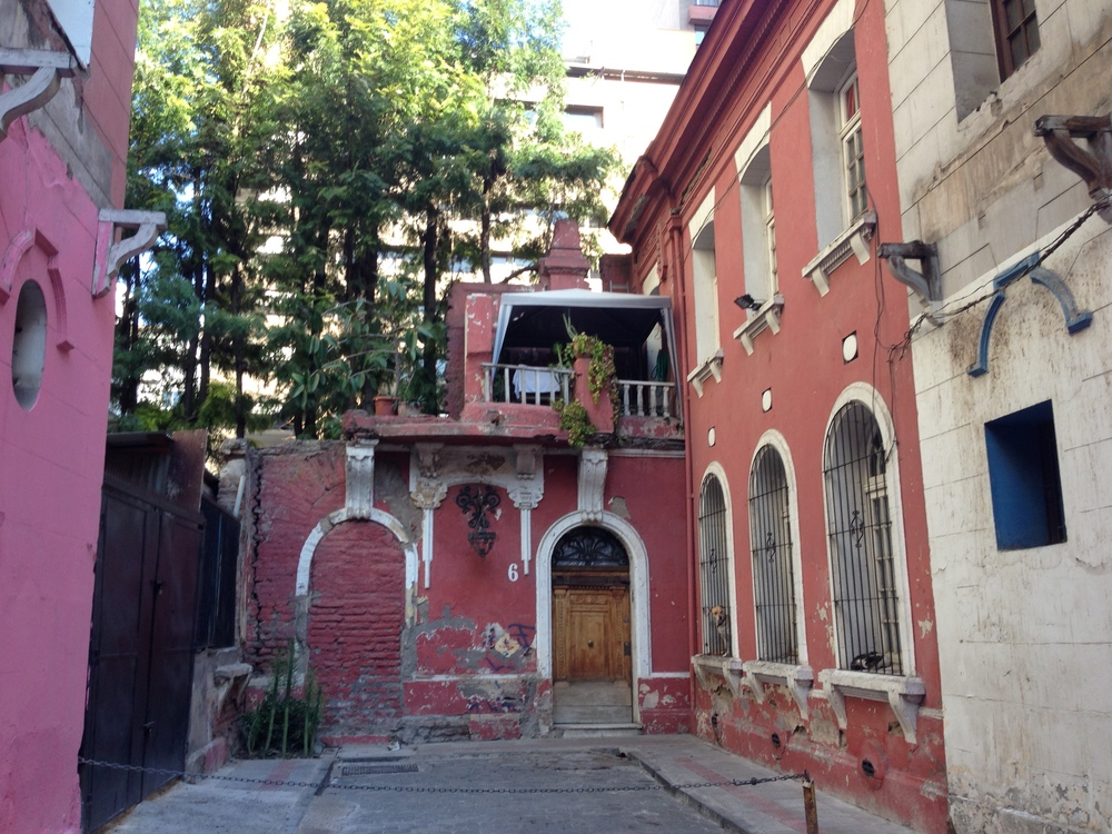 Nice little backstreet in Santiago