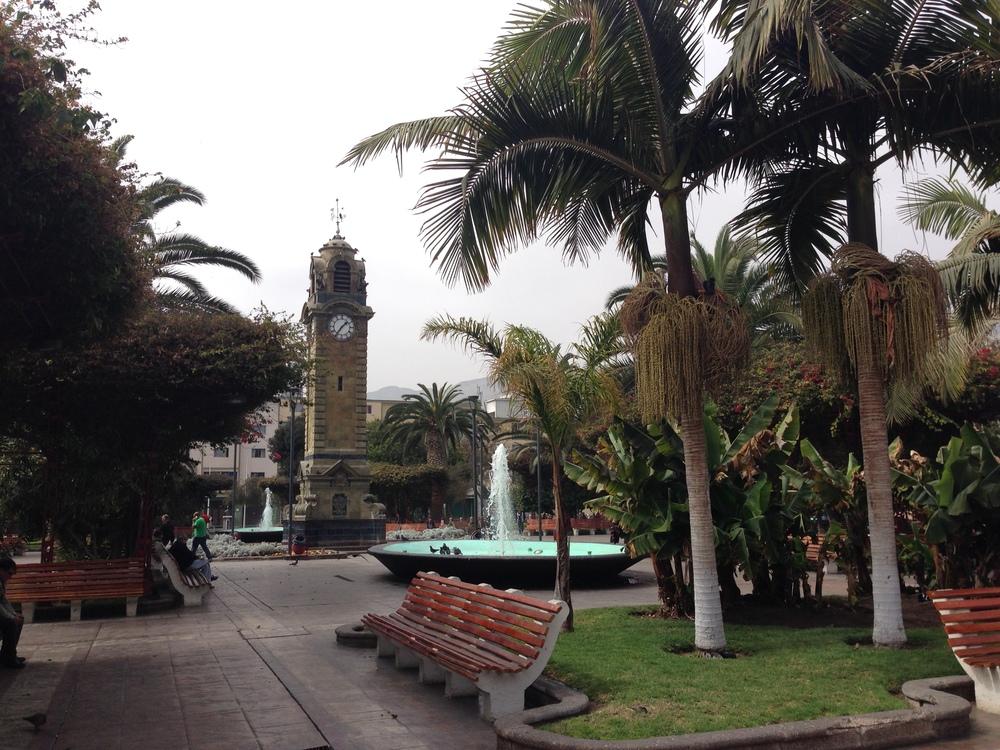 Antofagasta's main square