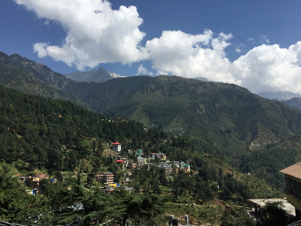 Mcleodganj during the day.