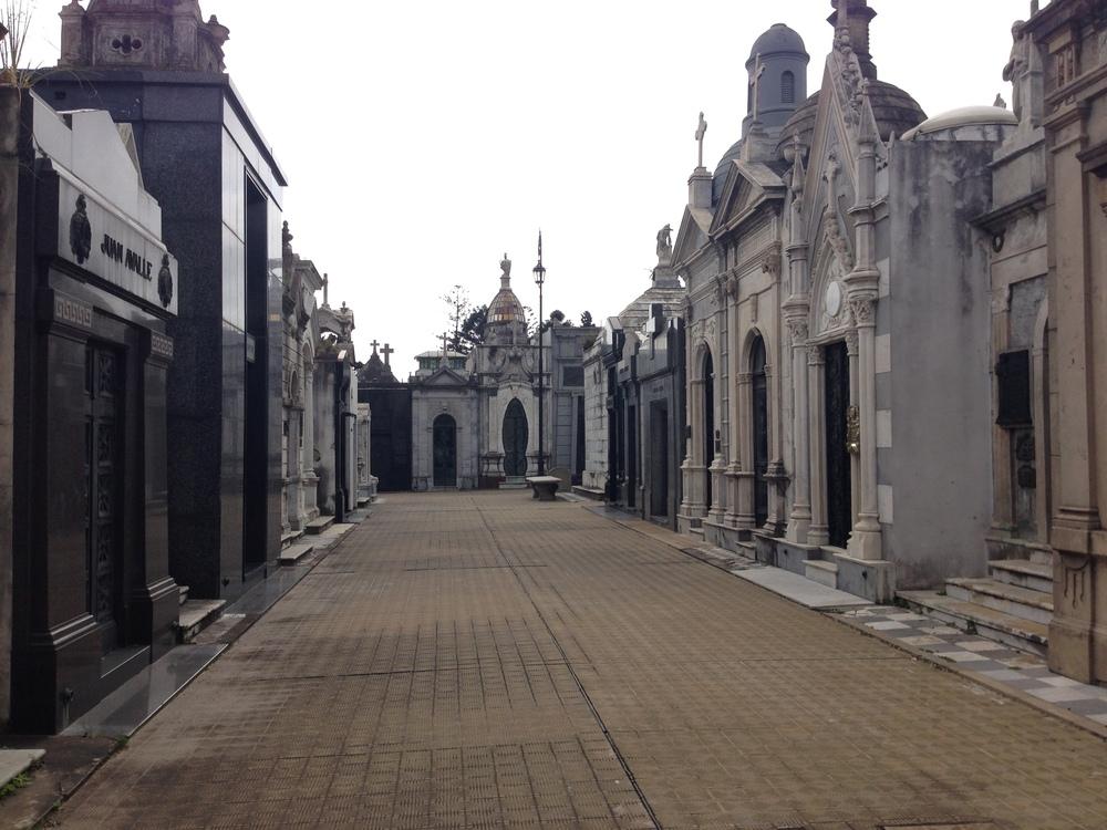 Recoleta Cemetery in BA