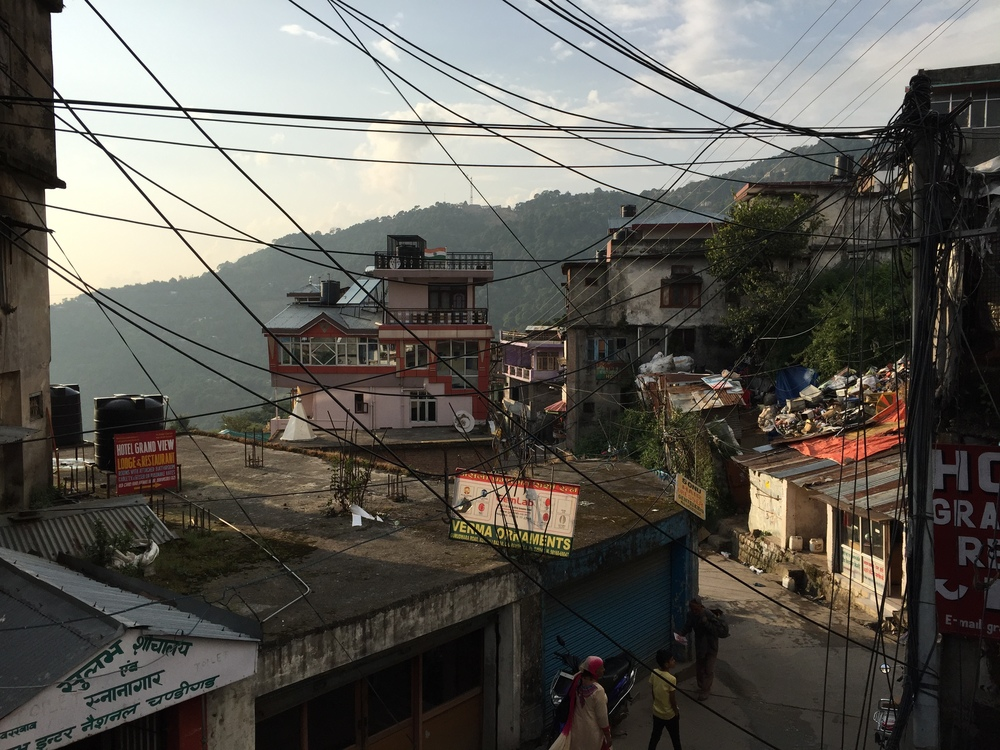 Dharamsala - what life in india looks like in many places.