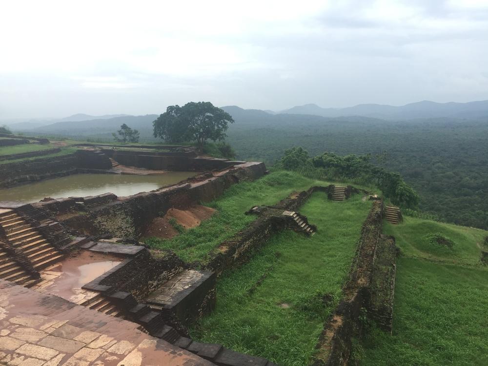 Sigiriya palace