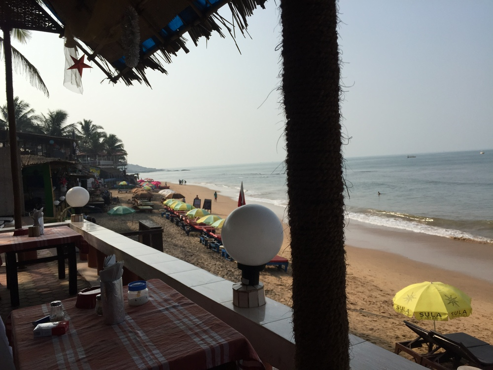 Goa is thoroughly for tourists, but it was nice to eat western food for the first time in months, even if it was bad. Still not a bad place though by any measure.