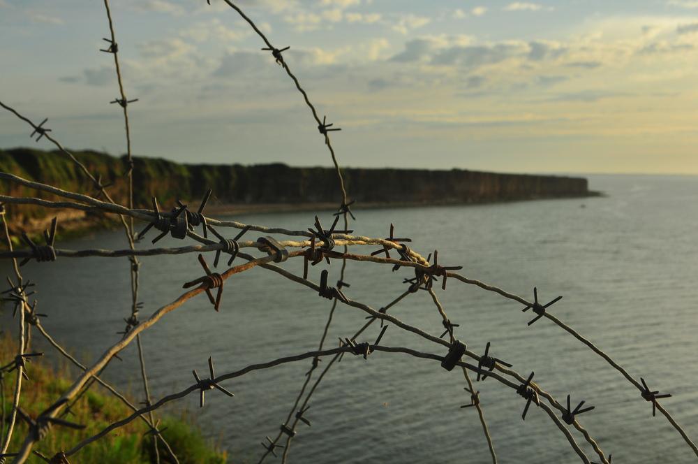 Cliffs at Point du Hoc