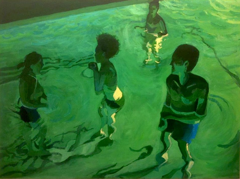 Untitled (Pool Swimmers 1)