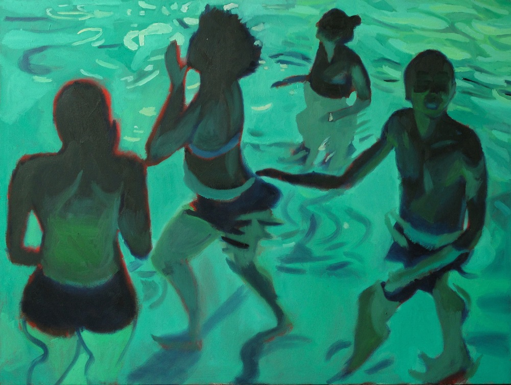 Untitled (Pool Swimmers 2)