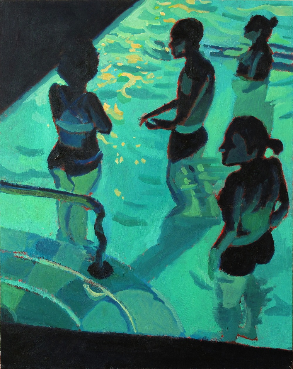 Untitled (Pool Swimmers no. 3)
