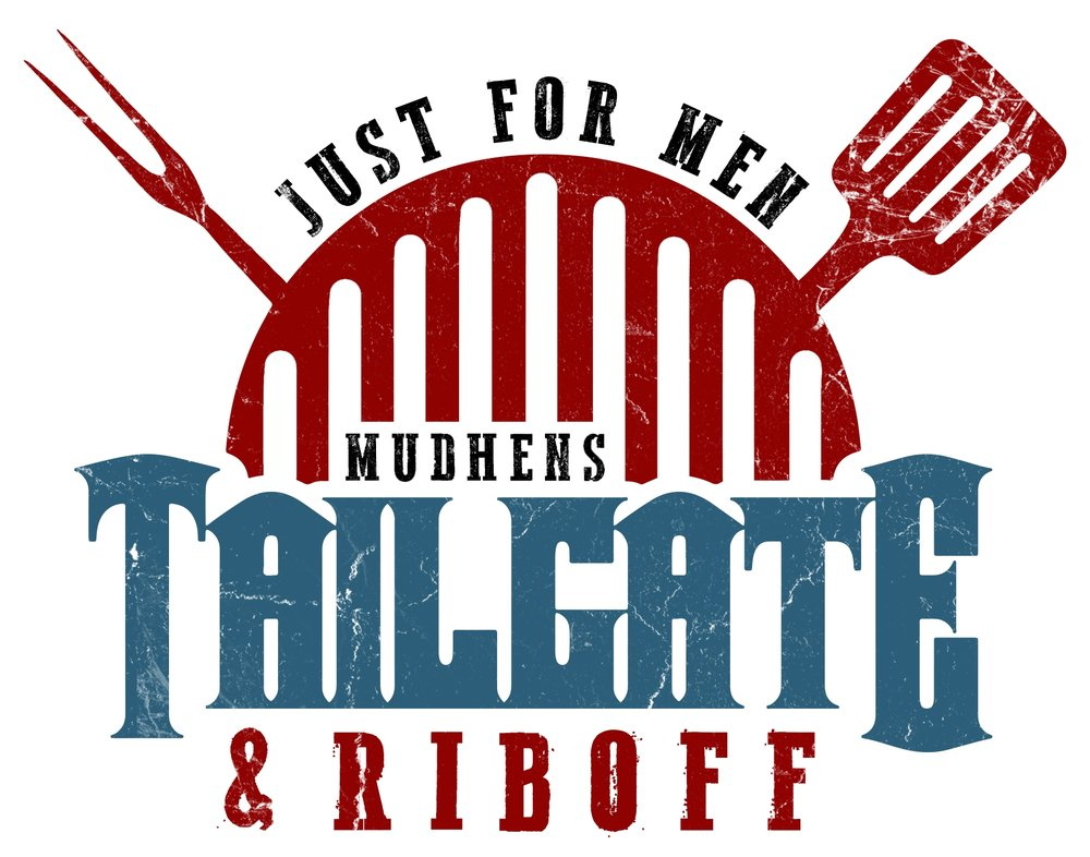 Just For Men• Saturday, June 17 • 3:45pm – 7pm• $20    - Come hungry and bring your lawn chair to our Mud Hens Tailgate. Enjoy the rib off, wing, bar, and more. Test your skills in a corn hole tournament, with custom boards for the winners! We tailgate in a parking lot on the corner of Erie & Jefferson, look for the motor home. Hang out with the guys, eat great food and have fun rooting on our Hens at 7pm.