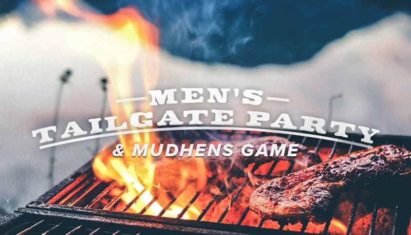 Tailgate With Us! - Join your fellow Crossroads guys in downtown Toledo for an ultimate tailgate! Test your skills in a corn hole tournamement, enjoy the ultimate BBQ, and top it off with a Mud Hen's baseball game.June 9 • 3:45pm