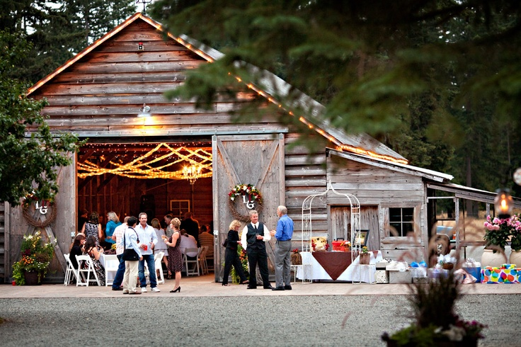Rustic Wedding Venues In Seattle Rose Gold Events