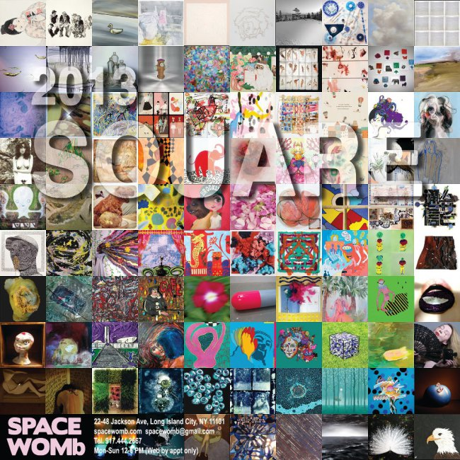 "Promo for ""Square"" at Spacewomb Contemporary Art Gallery"