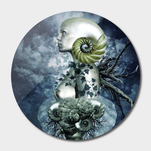 """""""Natura"""" Disc Print"""