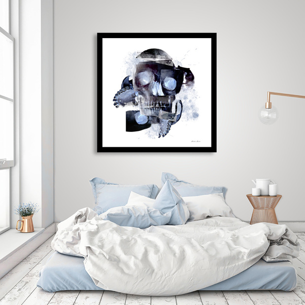 """Skull Abstract"" Fine Art Print"