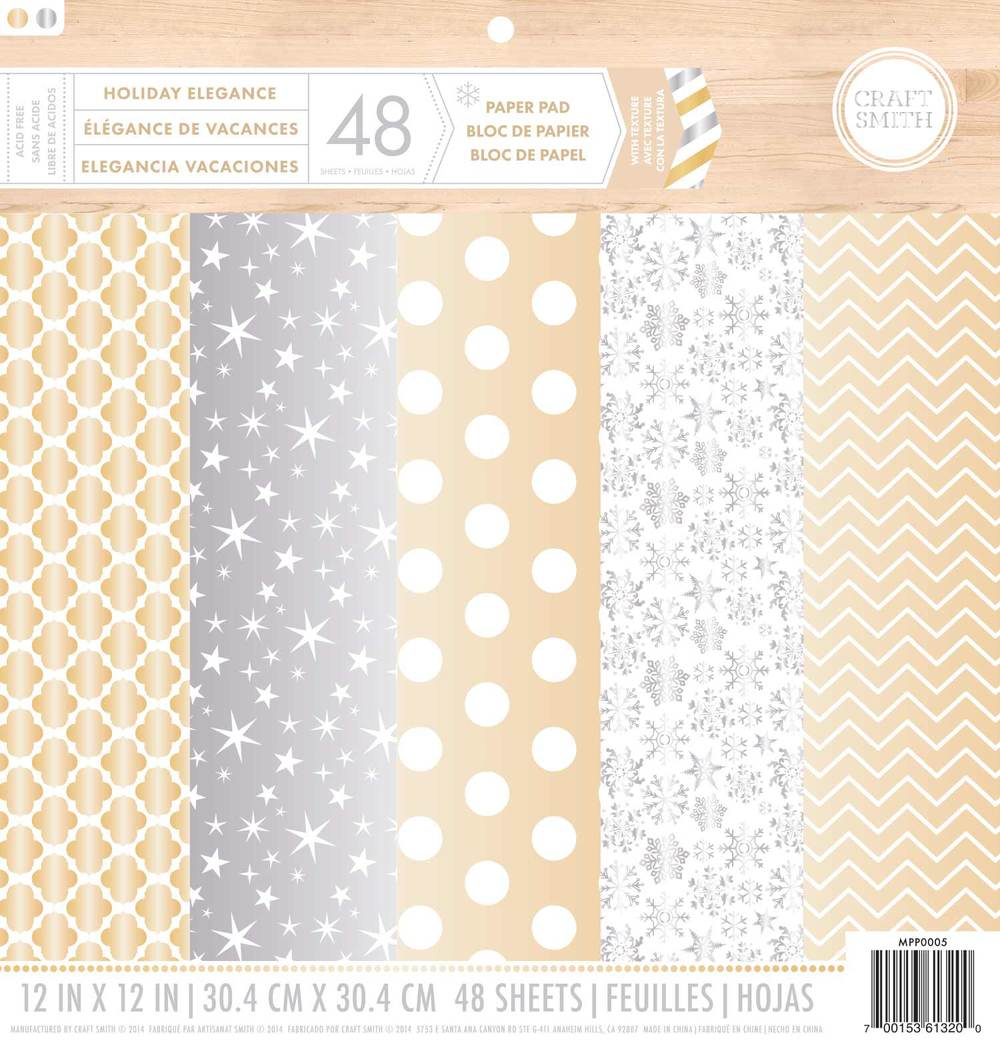 Gold and silver and foil oh my craft smith for Silver foil paper craft
