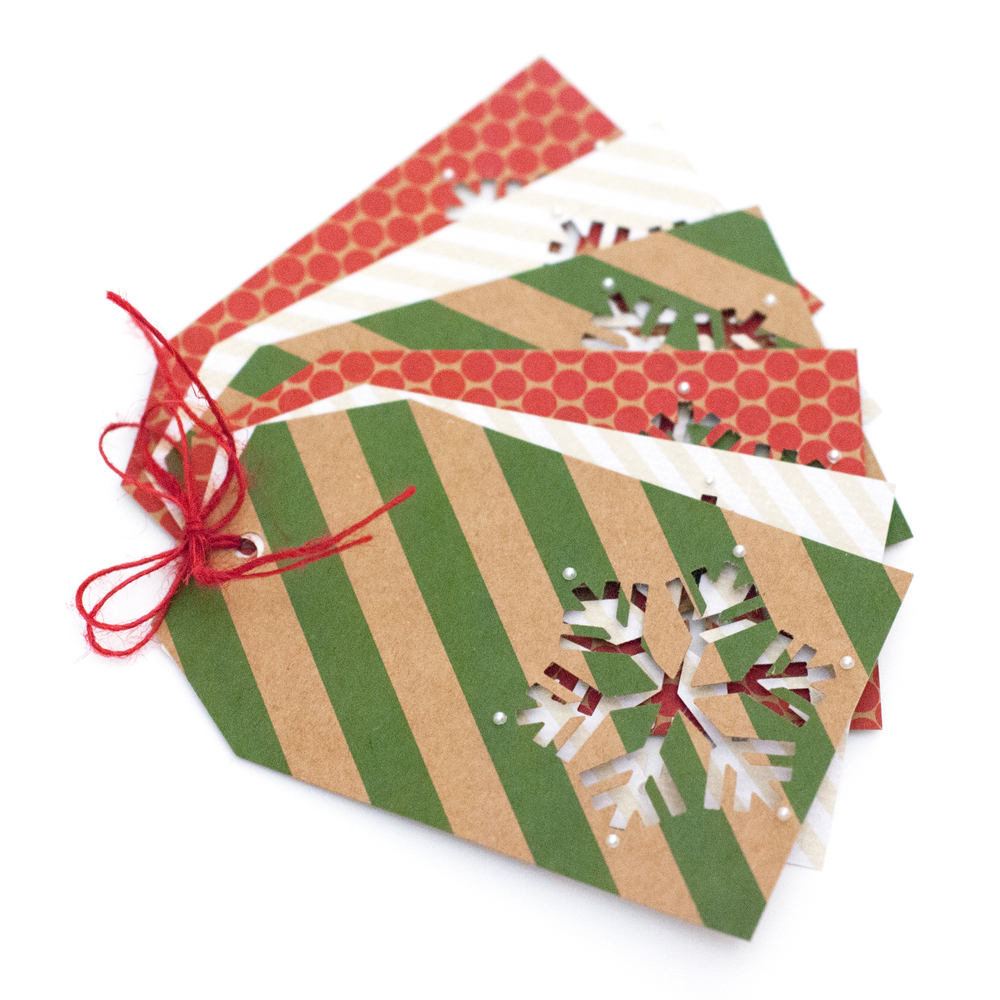 Easy christmas gift tags craft smith i wanted to share a quick and easy idea for some gift tags because i would guess that a few of you still have a little wrapping to do jeuxipadfo Choice Image