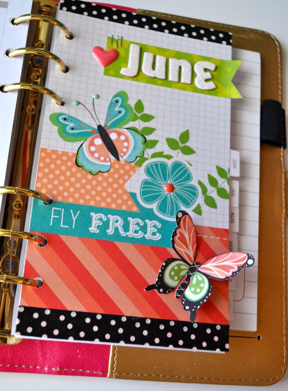 Pretty Little Planner June Craft Smith